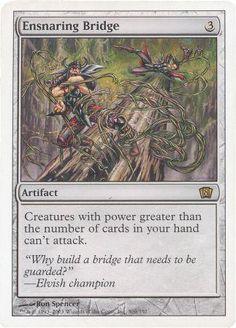 *Ensnaring Bridge - MTG 8th Edition (Magic Cards) - Modern Legal Cards - Magic: The Gathering - 4 - 1