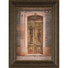 I pinned this Green Door Framed Print from the Terry Kathryn Lawrence event at Joss and Main!
