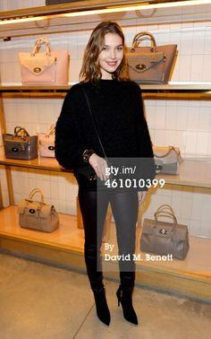 Arizona Muse attends a cocktail party hosted by…