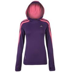 adidas adidas Response Hoody Ladies from www.sportsdirect.com