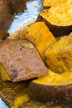 Try making these maple glazed sweet potatoes just once, and we guarantee you'll want to make them for Thanksgiving, Christmas, and as a side dish for Sunday supper! #Sweetpotatoes #SundaySupper #easyrecipes #potatoes #sweetpotatorecipe #sweetpotato #sweetpotatoesrecipe #Thanksgiving #thanskgivingrecipe #Christmas #christmasrecipe