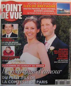 N°3025 - Mariage d'Alexandre de Sambucy de Sorgue et d'Anne-Cécile Berteau le 8 juillet 2006