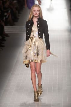 Blumarine Spring 2014 RTW. Favorite look from this collection!