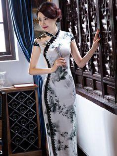 New Arrival Uoozee Stunning Dresses, Stylish Dresses, Beautiful Outfits, Fashion Dresses, Asian Prom Dress, Cotton Long Dress, Cheongsam Dress, Batik Dress, Ao Dai
