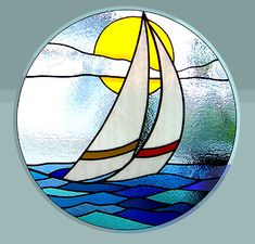 Sailboat Round Window