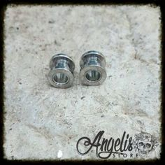 Silver Stainless Steel Tunnel Silver Rings, Stainless Steel, Stuff To Buy, Jewelry, Jewlery, Jewerly, Schmuck, Jewels, Jewelery