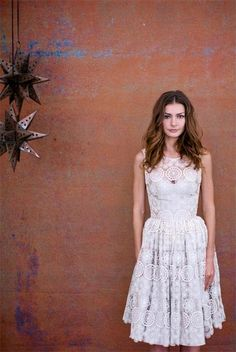 Wedding dress from Alina Pizzano fall 2012 collection | junebugweddings.com