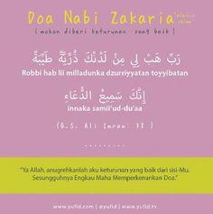 Doa Nabi Zakaria As