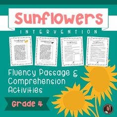 Browse fall resources on Teachers Pay Teachers, a marketplace trusted by millions of teachers for original educational resources. Comprehension Worksheets, Comprehension Questions, 2nd Grade Reading Worksheets, Progress Monitoring, Reading Intervention, Common Core Standards, Graphic Organizers, Happy Fall, Sunflowers