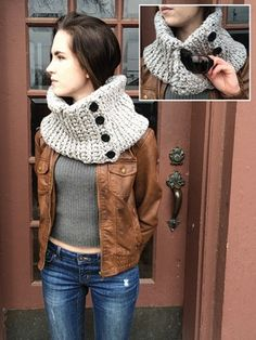 PATTERNFISH - pocket cowl pattern for purchase