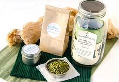 Sustainable Santa Cruz Sprouting Kit makes a great gift. Give nutrients and fun this holiday season!
