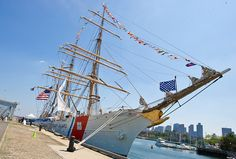 Coast Guard Barque Eagle just one reason to visit New London, CT