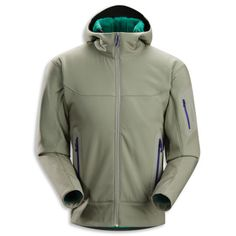Arc'teryx Hooded Hyllus (Quail Grey)