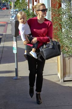 Célébrités * Reese Witherspoon * Reed Krakoff Atlantique Bionic Mini Tote
