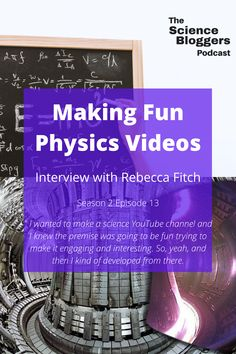 "We talk to Rebecca Fitch, an engineer with a background in physics working on providing power to homes using nuclear fusion. She is the host of her own YouTube channel ""Science with Bexy"" where she hopes to make science fun and engaging. #science #stem #womeninstem #physics"