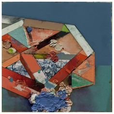 São Mamede - Art Gallery  Gil Maia Constructiones-Valetudinarii-XII P57)13 2014 Oil x 70 cm x 70 cm
