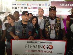 The teams. Thank you. #FlemingoDutyFreeColombo #HarleyStreetThunderSrilanka