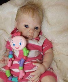 Lifelike Reborn Baby Girl Kimberly from Chanel Donna RuBert | eBay