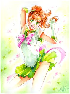 Sailor Jupiter Makoto by Naschi.deviantart.com on @deviantART