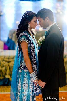 indian wedding portrait reception bride groom http://maharaniweddings.com/gallery/photo/11782