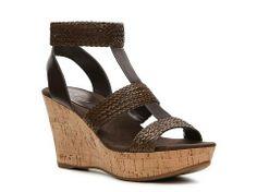 Nine West Ece Wedge Sandal Womens Wedge Sandals All Womens Sandals Sandal Shop - DSW