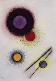 Untitled - Wassily Kandinsky - The Athenaeum Wassily Kandinsky, Abstract Words, Abstract Art, Tatouage Delta, A4 Poster, Poster Prints, Photos Folles, Oil Painting Gallery, Guache