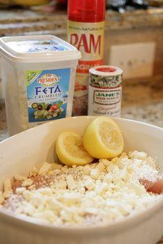 Lemon Feta Chicken