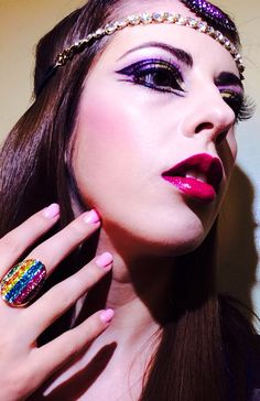 @Katy Perry 's dark horse inspired #makeup ❤️