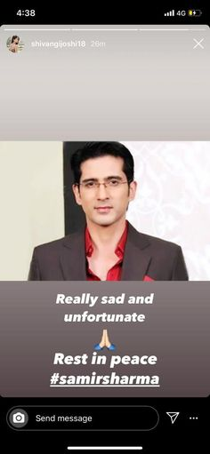 Hasee Toh Phasee, Gurmeet Choudhary, Anarkali Frock, Shock Wave, Instagram Handle, Condolences, Rest In Peace, Gossip, It Hurts