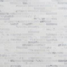 Ivy Hill Tile Oriental Sculpture 12 in. x 12 in. x 8 mm Marble Mosaic Floor and Wall Tile, Grays Splashback Tiles, Mosaic Wall Tiles, Marble Mosaic, Mosaic Glass, Mosaics, Marble Subway Tiles, Marble Wall, Pony Wall, Gloss Matte