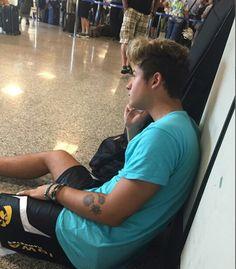 Fede in aeroporto