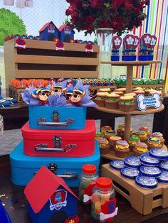 Mesa de dulces Paw Patrol