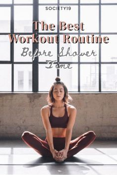 Here is a great workout routine that is quick and easy you can do before your shower time every morning to stay fit.    #workoutroutine #fitness Quick Workout Routine, After Workout, Workout Challenge, Fun Workouts, Inner Thigh Muscle, Self Care Activities, Workout Plan For Women, Beautiful Disaster, Exercises