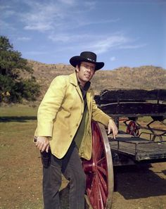 Pernell  Roberts    as  Adam  Cartwright  on  Bonanza