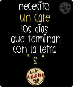 Necesito un café !!!  #AllYouNeedIsLove #Arrimartes #HappyHalloween #Desayuno #Breakfast #Yommy #ChaiLatte #Capuccino #Hotcakes #Molletes #Chilaquiles #Enchiladas #Omelette #Huevos #Malteadas #Ensaladas #Coffee #Caffeine #CDMX #Gourmet #Chapatas #Party #Crepas #Tizanas #SuspendedCoffees #CaféPendiente  Twiitter @KafeEbaki