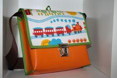 Kindergartentaschen - Retro Kindergartentasche - ein Designerstück von Rosenrot-OS bei DaWanda