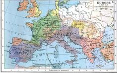 Europe in 526 CE