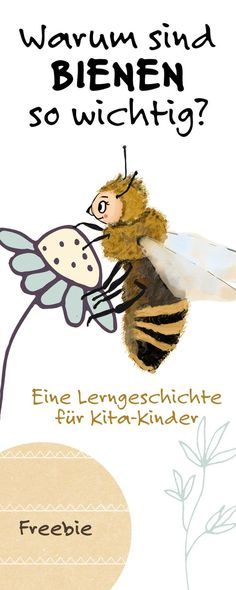 Why are bees so important to us and to nature? How to feed … - Education Science Science For Kids, Activities For Kids, Kindergarten Portfolio, Art Education Resources, Learn German, Kids Corner, Happy Baby, Creative Kids, Kids And Parenting