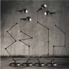Jielde lamps, industrial design