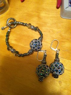 Jewelry I hand make. It's a hobby and I find it to be relaxing and a great way to bond with my daughters.