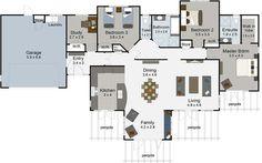 monte carlo 4 bedroom house plans landmark homes builders nz - House Plans Landmark Homes New Zealand