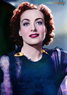 Photo colorized by Alex Lim Hollywood Photo, Vintage Hollywood, Classic Hollywood, Joan Crawford, Golden Age Of Hollywood, Hollywood Actresses, The Past, Celebrities, Stars