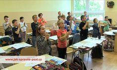 motorické čtení - rozcvička před čtením i psaním Schools First, Crafts For Kids, Preschool, Classroom, Teaching, Activities, Vogue, Writing, Education