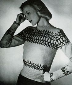 Scandinavian Sweater Pattern