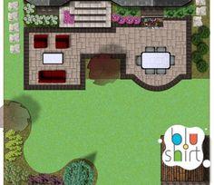 Amazing landscape plan for the entertainment focused client.