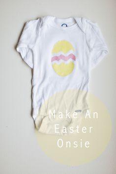 easter egg onesie