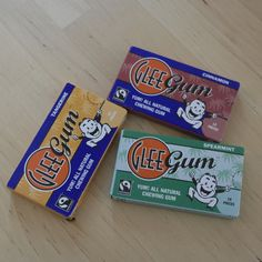 Chew on these All Natural Chewing Gums from Glee Gum!    Uncommon goodies for uncommon folks.    Open:  Mon-Fri, 8am-8pm  Sat & Sun, 10am-8pm