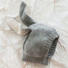 rabbit baby hat.