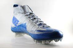 reputable site 60cb0 4fd03 Nike Men s Vapor Untouchable TD Football Cleats 707455 011 Wolf Grey Blue   Nike