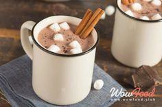 Какао с корицей и маршмеллоу